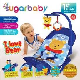 Kursi duduk bayi / Mainan / Bouncer Sugar Baby