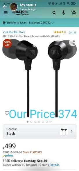 JBL C50 EARPHONES