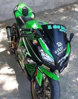 JUAL NINJA HONDA WARIOR 250cc 2016