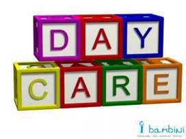 Day care  centre for   children of all age groups