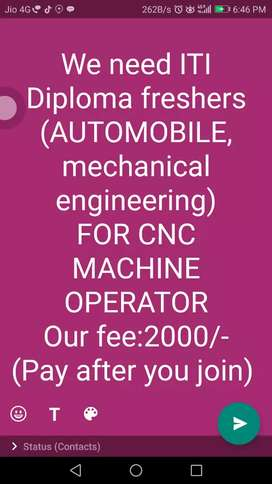 Are you searching for a new job contract us
