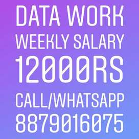 Home based job part time work