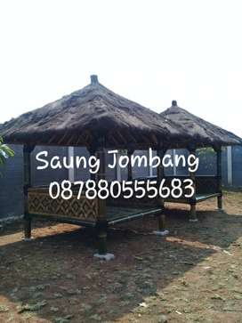 Gazebo Bambu,Saung Bambu,Rumah Bambu,Lesehan Dll