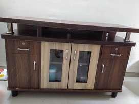 Wood Table storage