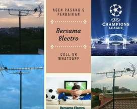 Instalasi pasang sinyal antena tv digital