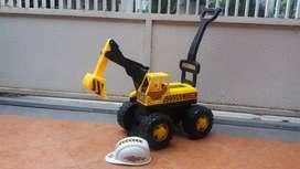 Mainan Mobil excavator anak anak bisa ditunggangi