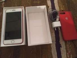 Iphone 7 plus Red colour (product) 128 gb