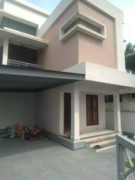 3 bhk 1650 sqft 4 cent new build house at edapally near vattekunnam