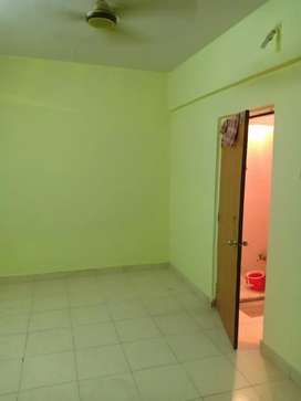 1 RK FLAT FOR RENT GHANSOLI GAON ALL