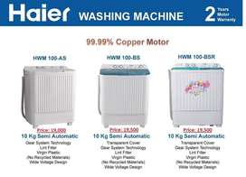Haier brand new all washing machines, delivery option on wholesale 24H