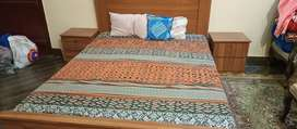King size Bed with 2 side Table and Dressing Table for sale