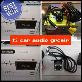 Dvd 2din sansui japan full hd android link led 7inc+camera hd mumer