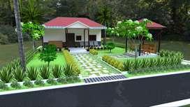 Low cost Farm house for sale near Mansanpally, Maheswaram near Airport