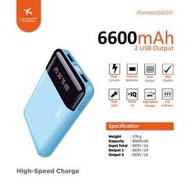 Jual Murah Power Bank JETE 6600 Romeo | Power Bank Berkualitas
