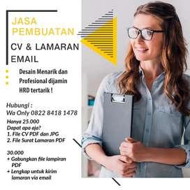 Jasa Pembuatan CV Lamaran Email