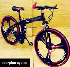 New Foldeble Bicycles with disc breaks