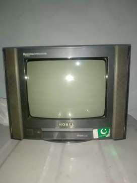 Nobel company tv good candition 10/10 black color and FM89.0 Layyah