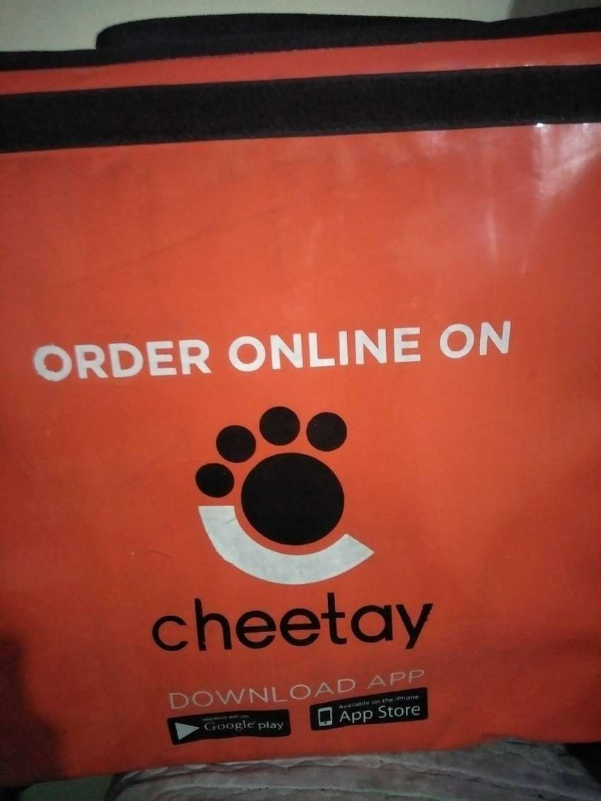 Cheetay food delivery bag for sale 0