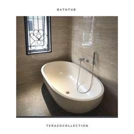 Bathtub oval murah teraZo