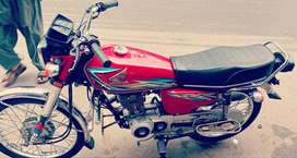 Honda CG 125 - Genuine Condition (Urgent Sale)