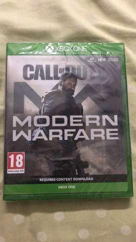 Call of Duty Morden Warfare (Pre-order version)riginal CD for XBOX One