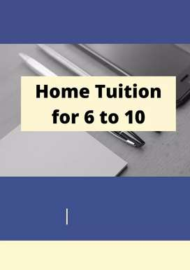 HOME TUITIONS FOR CLASS 6 TO 10 ALL SUBJECTS