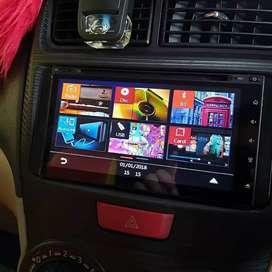 Paket Headunit Audiobank Lengkap Kamera Parkir Komplit USB Bluetooth