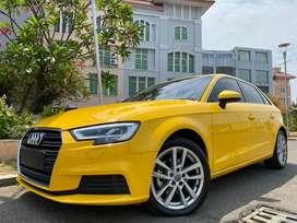 Audi A3 1.2 TFSI Hatchback 2018 Yellow Km10rb Wrnty-2021 #AUTOHIGH