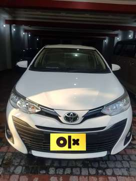 Toyota yaris Ativ Cvt Bank Leased