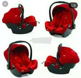 Car seat merk joie gemm ember red