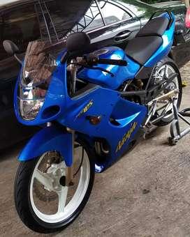 Kawasaki Ninja KRR / RR 150 Blue Limited Edition 2009 Gress