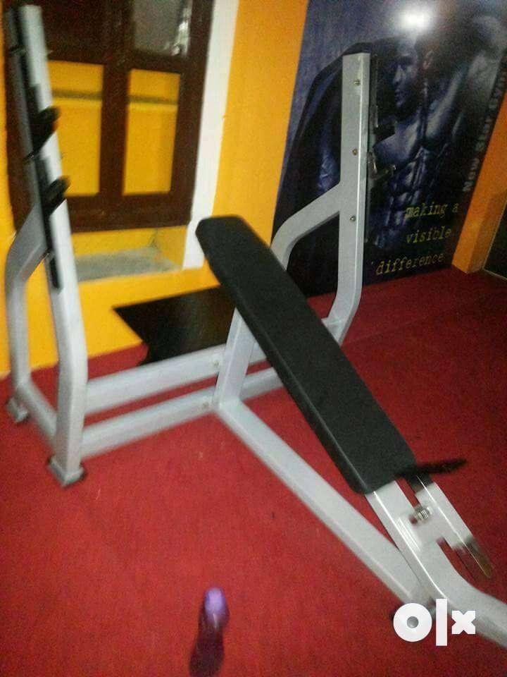 I am Meerut(UP)based Gym equipment manufacturer. We supply new gym equ 0
