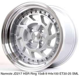 NAMROLE JD217 HSR R15X8/9 H4x100 ET30/25 SML