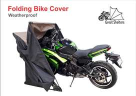 WEATHERPROOF FOLDING COVERS FOR BIKE & CAR (What Your Vehicle Deserve)