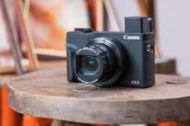 Canon PowerShot G5 X Mark II Kredit Camera