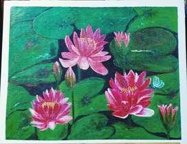canvas handmade paintings