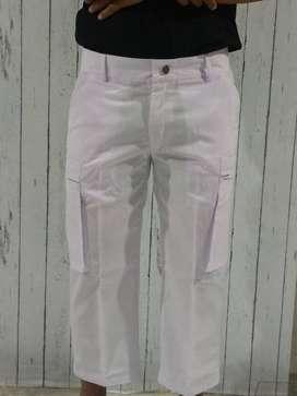 Celana Sirwal Muslim Warna Putih / Celana Cingkrang Modern, Gaul,Modis