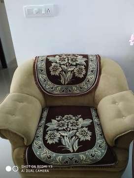 Sofa chairs. Two single seater sofa chairs.