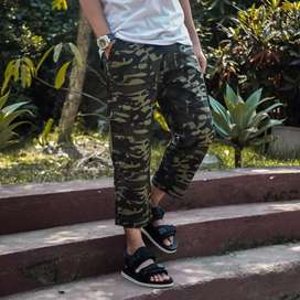 Celana Sirwal Cargo Loreng Army One Original by KDL (Real Pict)