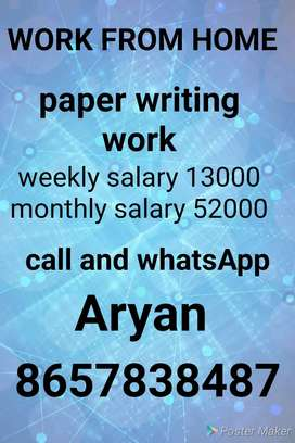 Good writing work at home best Earning
