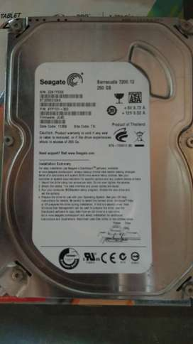 Seagate 250gb untuk backup