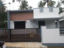 A NEW BUILT 2BED ROOM 925SQ FT 4.25CENTS HOUSE IN OLLUR,THRISSUR
