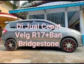 JUAL MURAH VELG RING 17 PCD 5 X 114,3 BAN 215/45