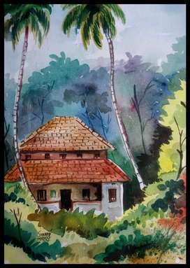 water colour paintings  ,  size - 14 X11 inchs, One Picture Price- 400
