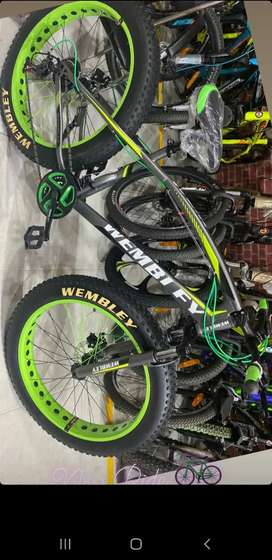 WEMBLEY AUSTRALIAN BRAND FAT TYRE BICYCLE