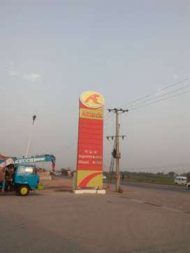 4 Kanal Petrol pump for sale at excellemt location