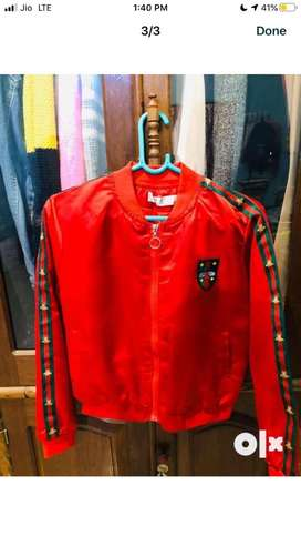 Rs349 Red bomber jacket size s-m Good Condition