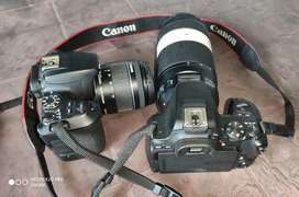 Canon 200d ii rent with tripod , mic etc.