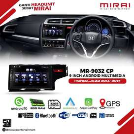 Head Unit Android MIRAI 9032CP All NEW JAZZ 2014- UP Apple Car Play
