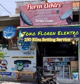 Kantor Cabang Terdekat Pasang Service Antena Parabola Medan Satria